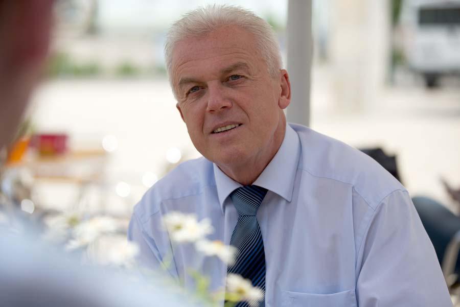 Porträtbild von Bürgermeister Roland Polaschek