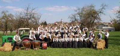 Gruppenbild Musikverein Gerstetten